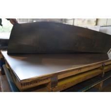 Лист горячекатаный нержавеющий 10 мм 1000х2000 мм AISI 304 (08Х18Н10)