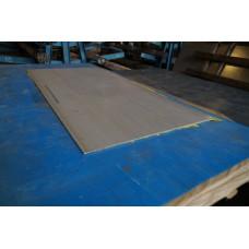 Лист матовый нержавеющий 4 мм 1000х2000 мм AISI 304 (08Х18Н10)