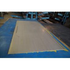 Лист матовый нержавеющий 1,5 мм 1250х2500 мм AISI 304 (08Х18Н10)