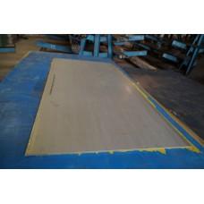 Лист матовый нержавеющий 1,2 мм 1000х2000 мм AISI 304 (08Х18Н10)