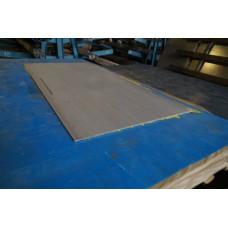 Лист матовый нержавеющий 0,8 мм 1250х2500 мм AISI 304 (08Х18Н10)