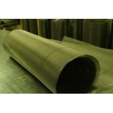 Сетка латунная тканая ГОСТ 6613-86 ячейка 0,1 мм, d 0,08 мм