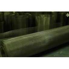 Сетка латунная тканая ГОСТ 6613-86 ячейка 0,9 мм, d 0,4 мм