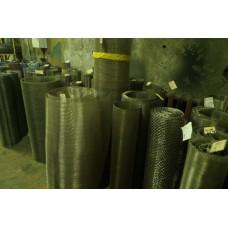 Сетка нержавеющая тканая ТУ 14-4-507-99 ячейка 0,08 мм, d 0,055 мм