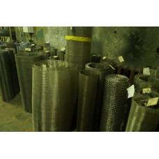 Сетка нержавеющая тканая ТУ 14-4-507-99 ячейка 0,14 мм, d 0,09 мм