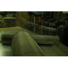 Сетка фильтровая нержавеющая саржевого плетения яч С56 d 0,50/0,37 мм
