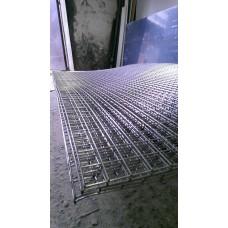 Сетка нержавеющая сварная яч 100х100 d 4 мм, 1000х2000 мм