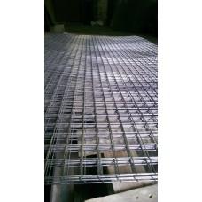 Сетка нержавеющая сварная яч 75х75 d 5 мм, 1000х2000 мм