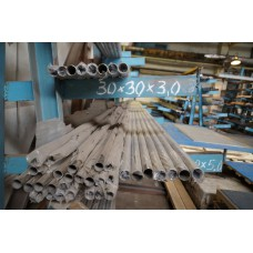 Труба бесшовная нержавеющая d 22 мм, s 3,5 мм