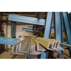 Уголок нержавеющий 15х15х3 горячекатаный, AISI 304, ГОСТ 8509-93